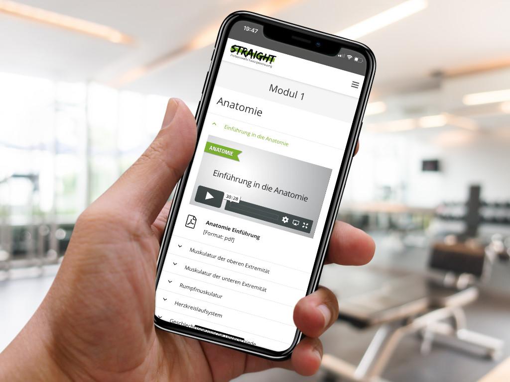 Trainerausbildung Smartphone