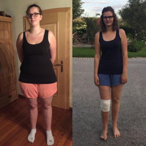 Magdalena Personal Training Abnehmen Erfolg Vorher Nacher